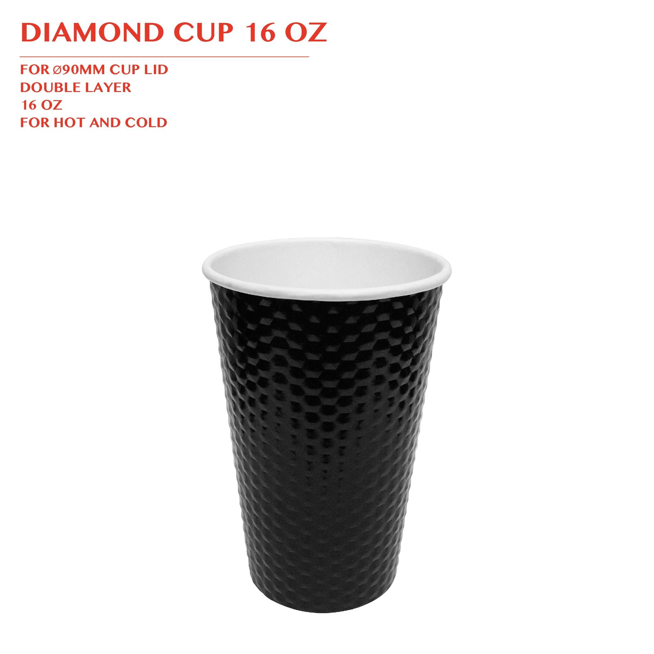 PRE-ORDER DIAMOND CUP 16 OZ 1000PCS/CTN