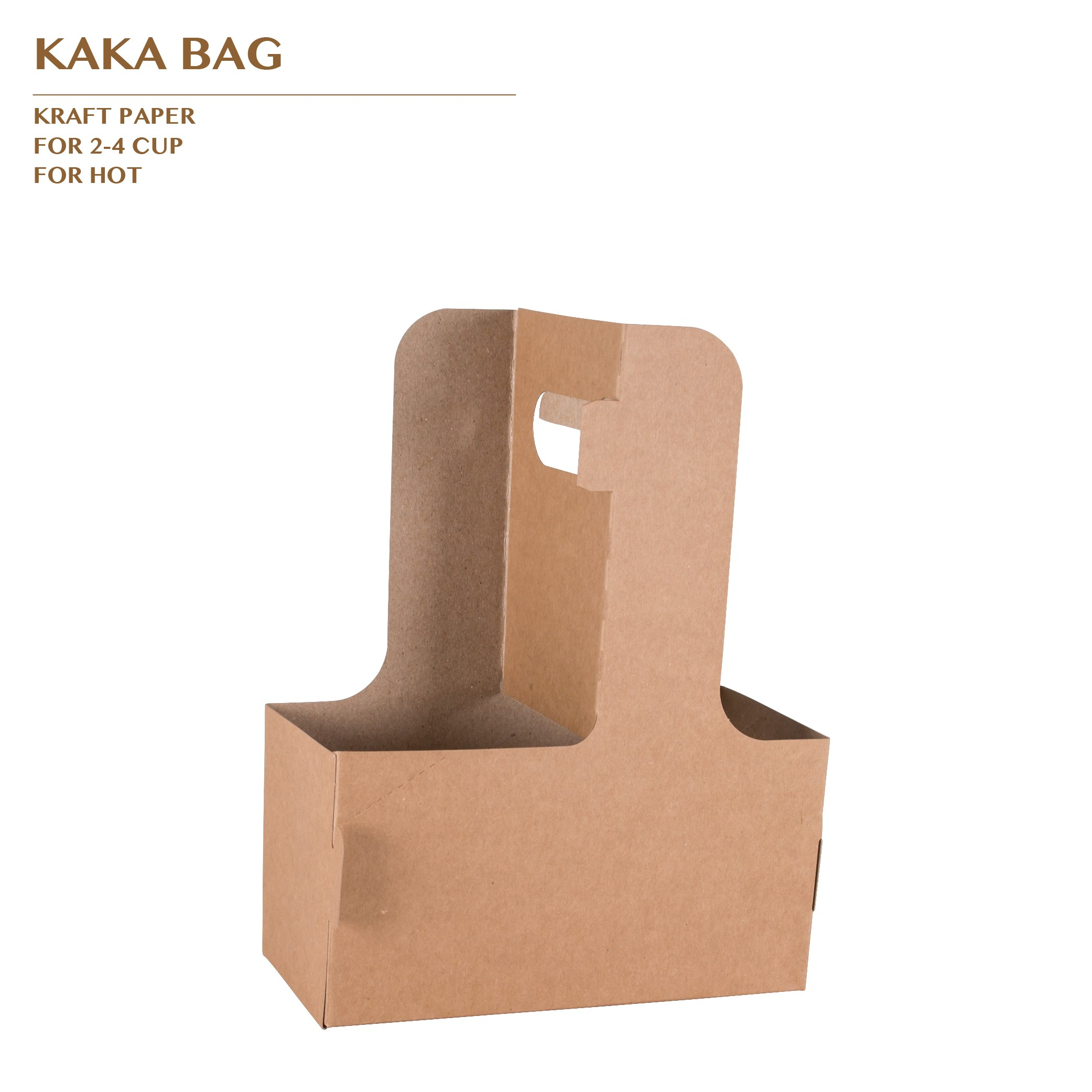KAKA BAG FOR 2-4 CUP 500PCS/CTN