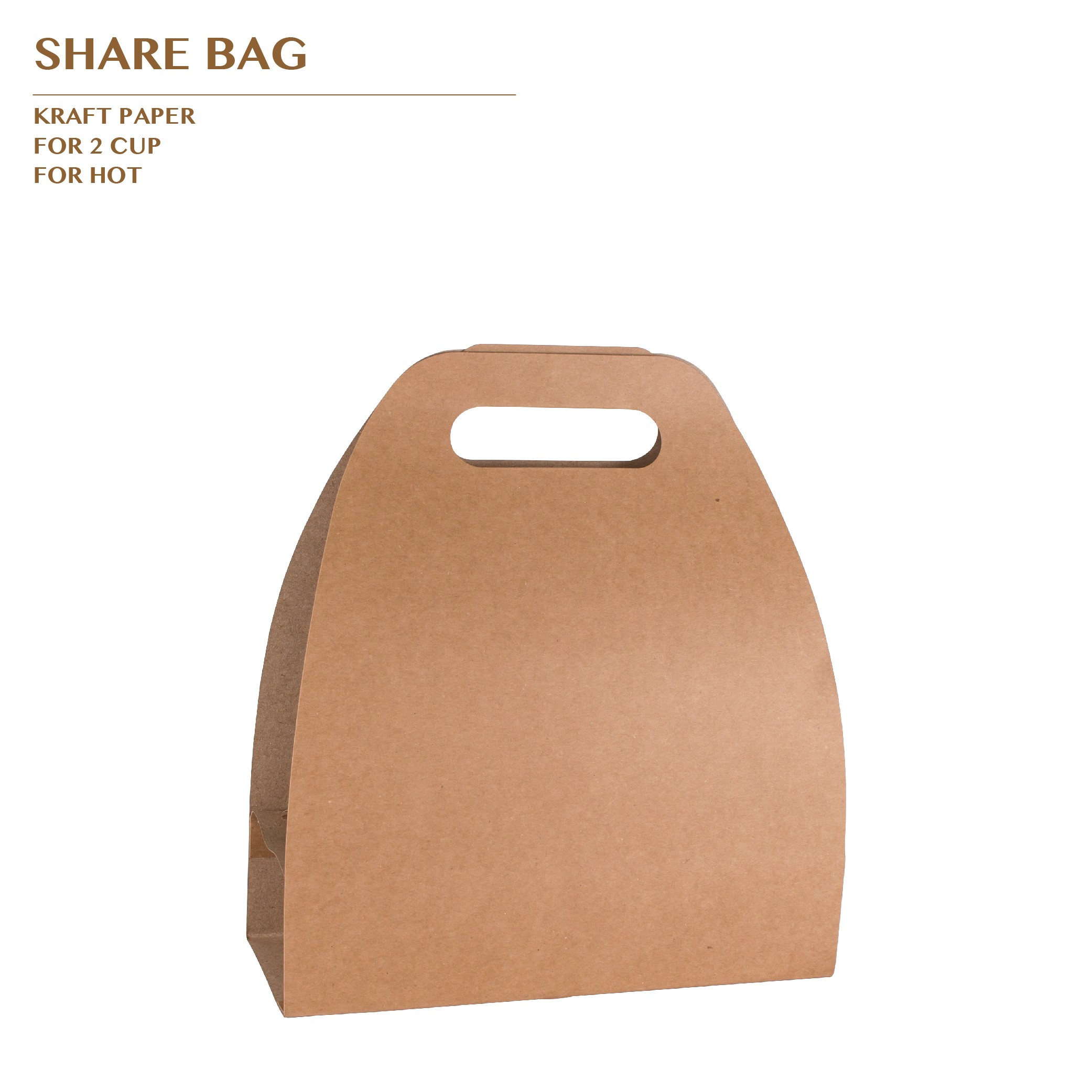 SHARE BAG FOR 2 CUP 500PCS/CTN