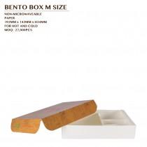 PRE-ORDER BENTO BOX M SIZE 800SET/CTN