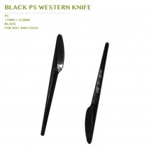 PRE-ORDER BLACK PS WESTERN KNIFE 3000 PCS/CTN(163MM)