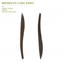 PRE-ORDER BROWN PS CAKE KNIFE 2000PCS/CTN