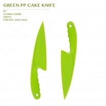 PRE-ORDER GREEN PP CAKE KNIFE