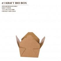 PRE-ORDER #1 KRAFT BIO BOX 450 PCS/CTN