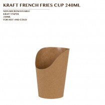 PRE-ORDER KRAFT FRENCH FRIES CUP 240ML PCS/CTN