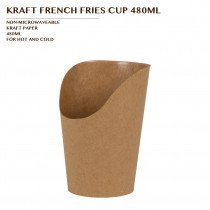 PRE-ORDER KRAFT FRENCH FRIES CUP 480ML PCS/CTN