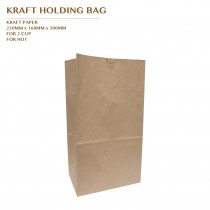 PRE-ORDER KRAFT HOLDING BAG FOR 2 CUP 1000PCS/CTN