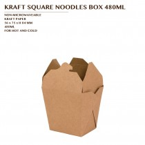 PRE-ORDER KRAFT SQUARE NOODLES BOX 480ML