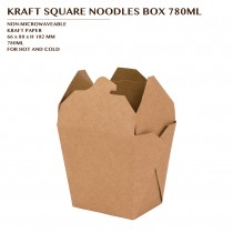PRE-ORDER KRAFT SQUARE NOODLES BOX 780ML