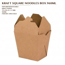 PRE-ORDER KRAFT SQUARE NOODLES BOX 960ML