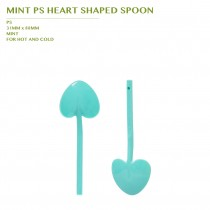 PRE-ORDER MINT PS HEART SHAPED SPOON 3600PCS/CTN