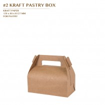 PRE-ORDER #2 KRAFT PASTRY BOX