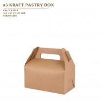 PRE-ORDER #3 KRAFT PASTRY BOX