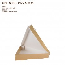 PRE-ORDER ONE SLICE PIZZA BOX