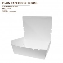 PRE-ORDER PLAIN PAPER BOX 1200ML 600PCS/CTN
