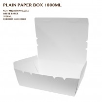 PRE-ORDER PLAIN PAPER BOX 1800ML 600PCS/CTN