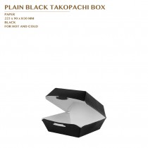 PRE-ORDER PLAIN BLACK TAKOPACHI BOX 1000PCS/CTN