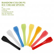 PRE-ORDER RANDOM COLOR PS  ICE CREAM SPOON 5000PCS/CTN