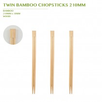 TWIN BAMBOO  CHOPSTICK 210MM 3000PCS/BOX