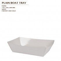 PLAIN BOAT TRAY 1000PCS/CTN
