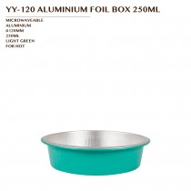 YY-120 ALUMINIUM FOIL BOX 250ML 900PCS/CTN